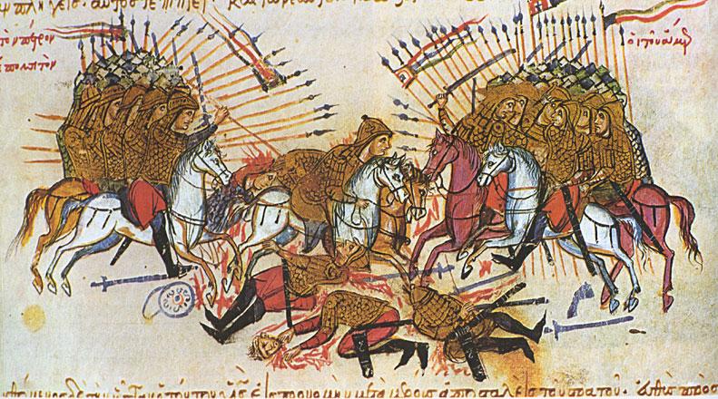 Η μάχη μεταξύ Βυζαντινών και Αράβων στο ποταμό Λαλακάοντα το 863